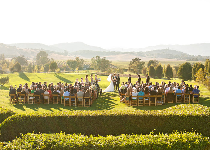 Wedding Ceremony At The San Luis Obispo Country Club