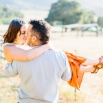 Ranch engagement photo