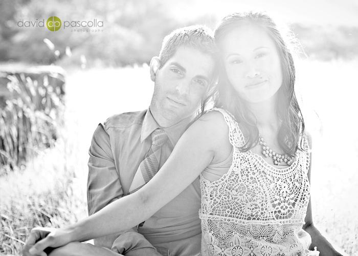 Engagement portrait by David Pascolla