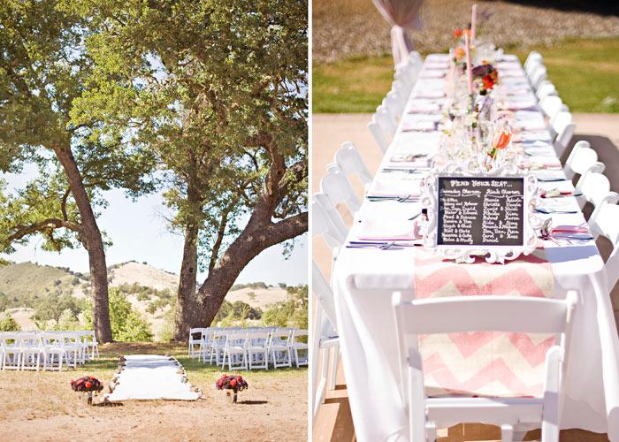 ... Oak tree and table setting at Spanish Oaks Ranch Santa Margarita ... & Christine and Joseph | Spanish Oaks Ranch Wedding » San Luis Obispo ...