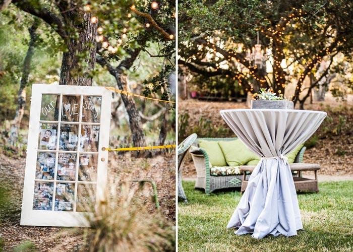 Rustic wedding at Tiber Canyon Ranch Wedding