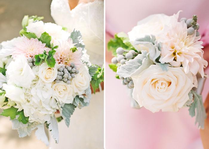 Wedding flowers. Bride's bouquet.