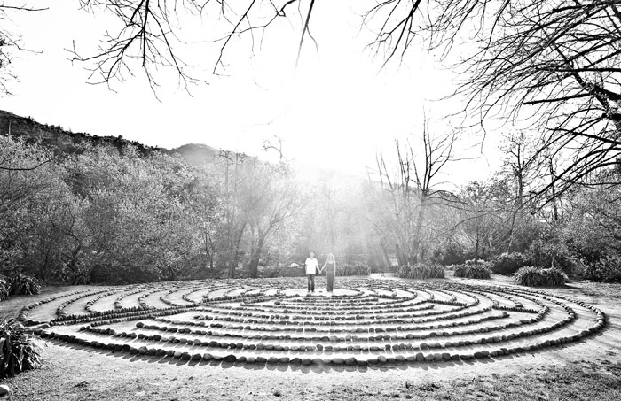 Circles. San Luis Obispo Engagement photo by David Pascolla
