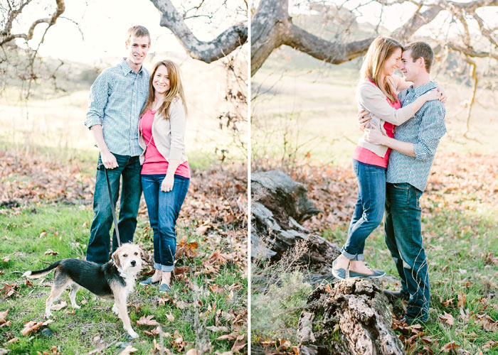 rustic portraits with dog