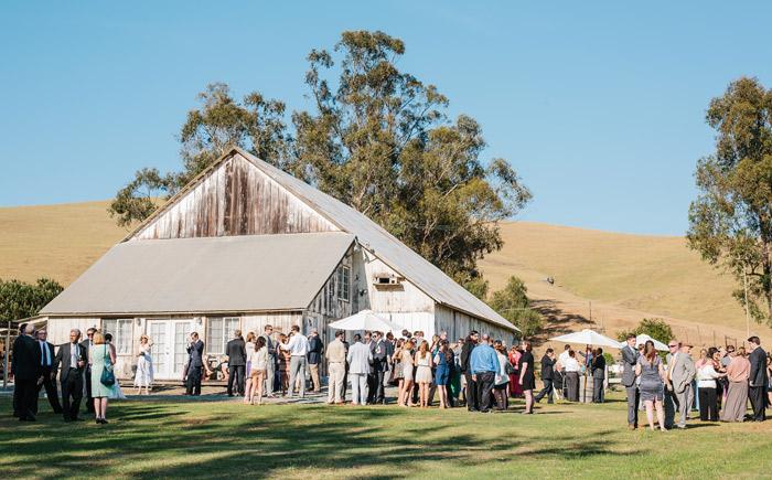 Reception At Cayucos Creek Barn