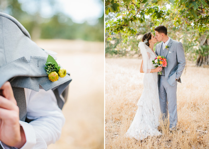 bride and groom - santa margarita ranch