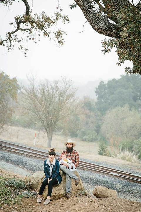 Outdoor family portraits in san luis obispo