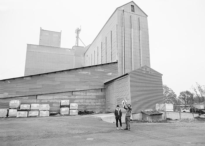 Templeton grain silo